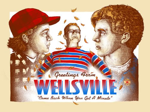 """""""Greetings From Wellsville"""" by Zeb Love"""