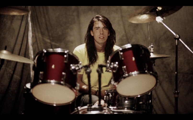 dave grohl teen spirit drums