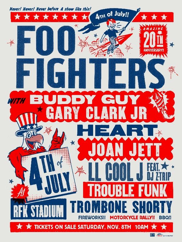 foo fighters dc concert