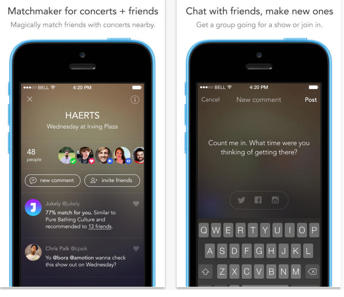 jukely001 New app offers access to unlimited concerts for $25 a month