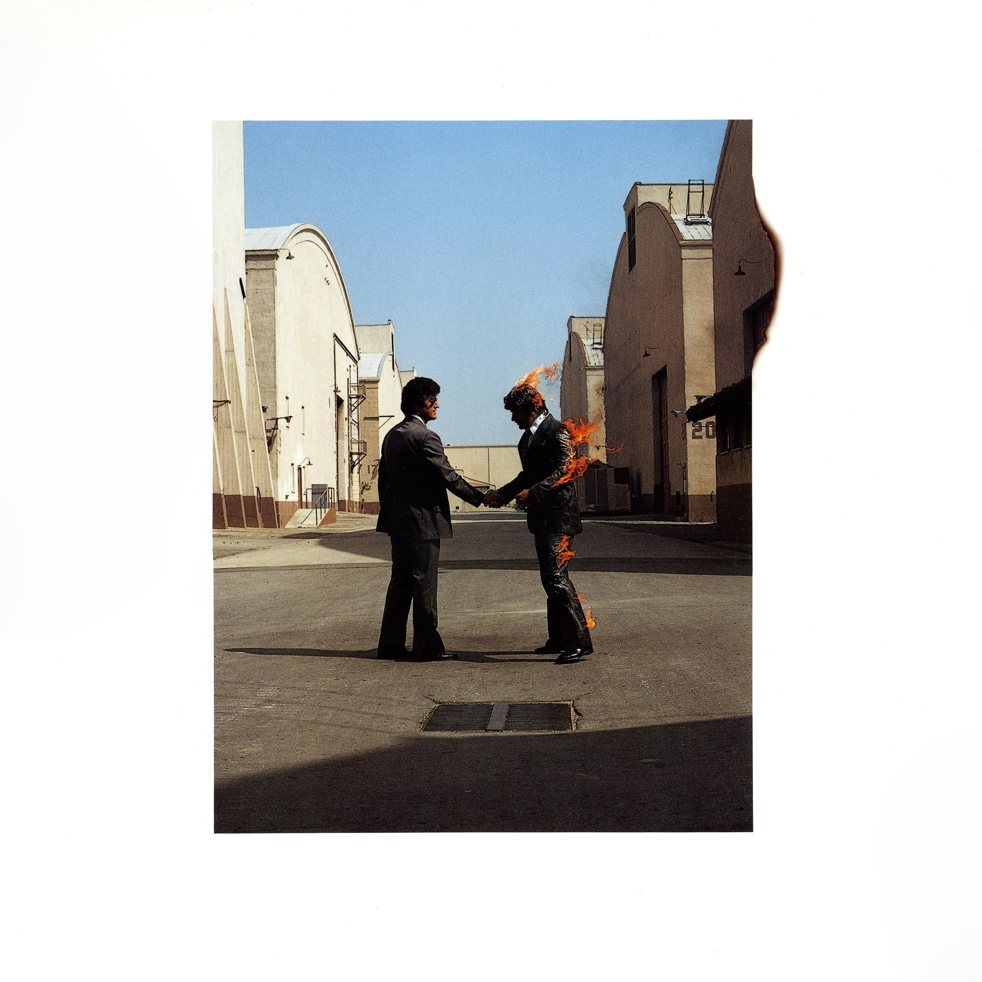 lp cover pink floyd wish you were here Trading Heroes for Ghosts: Revisiting Pink Floyds Wish You Were Here