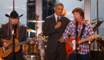 Obama Willie Nelson