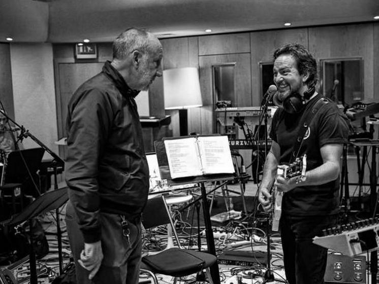 Eddie Vedder Pete Townshend