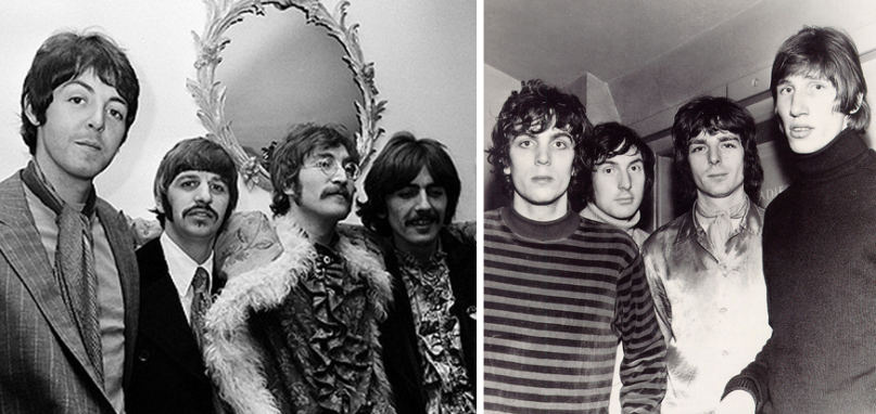 Pink Floyd Beatles