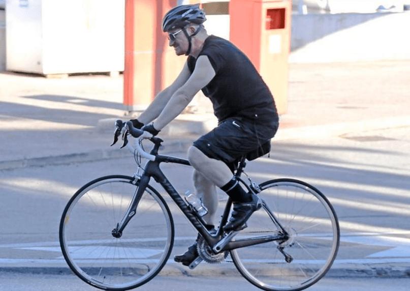 Bono bike injuries