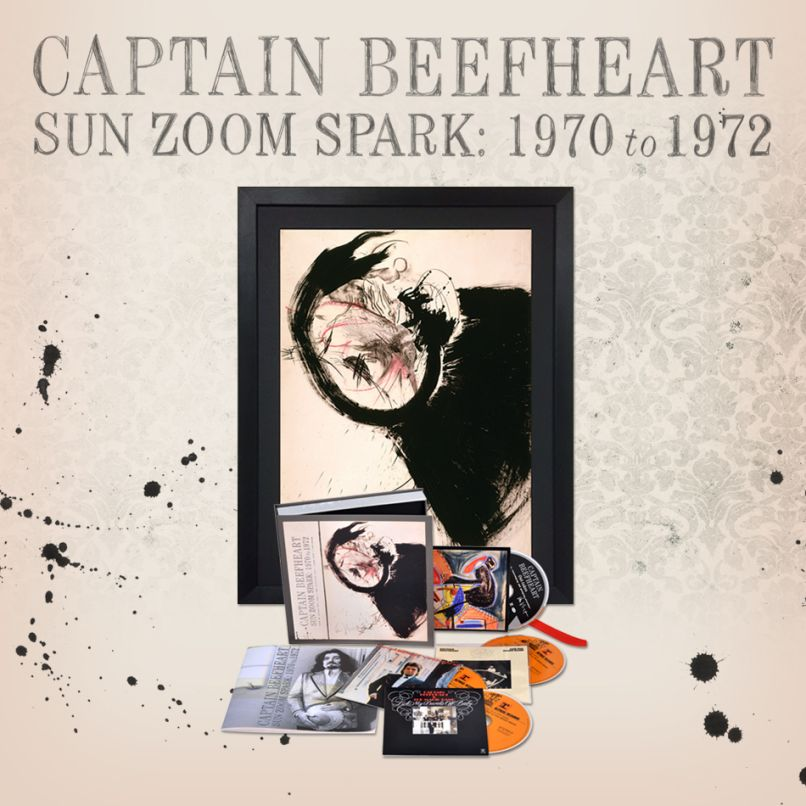 Giveaway Win Captain Beefheart S Sun Zoom Spark 1970 To 1972 Box Set Original Art Consequence Of Sound