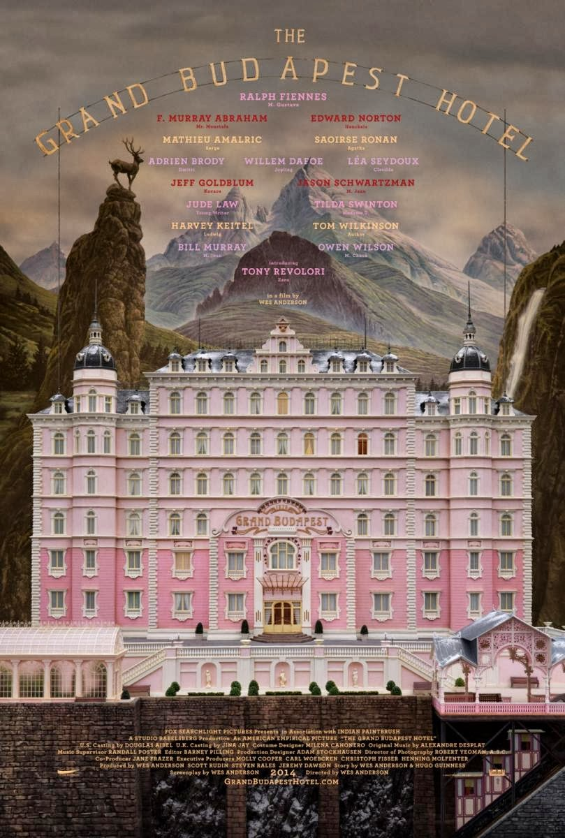 gran hotel budapest Top 25 Films of 2014