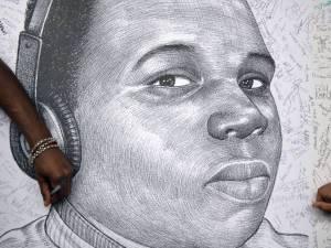 michael brown drawing