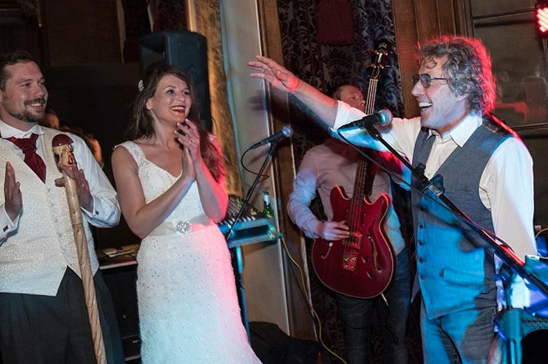 Roger Daltrey Wedding
