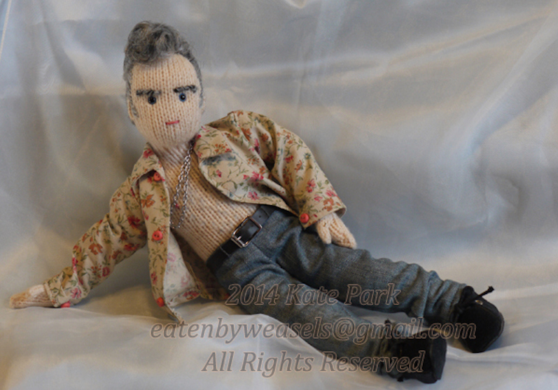 This Charming Doll: Superfan is selling knitted Morrissey dolls