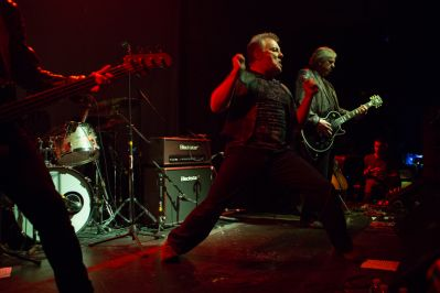 James Williamson ft. Jello Biafra // Photo by Philip Cosores