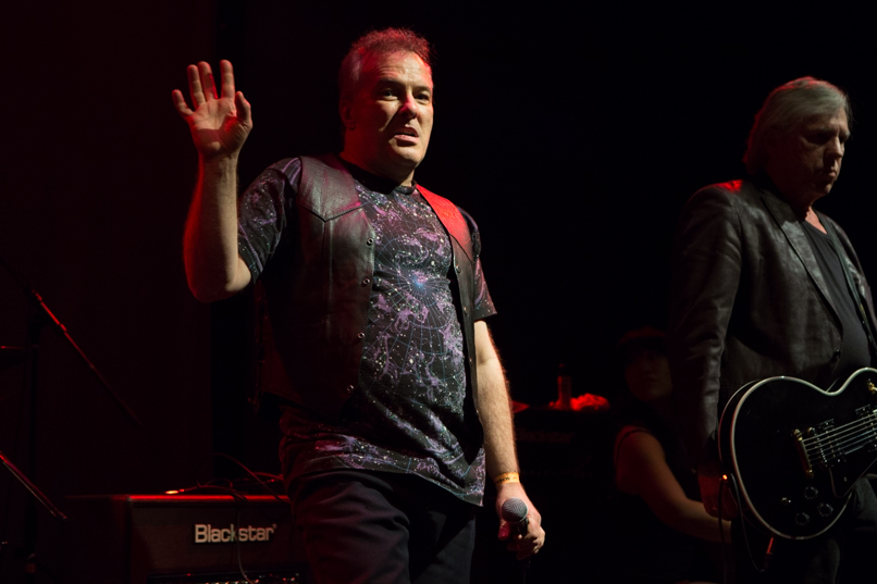 James Williamson ft. Jello Biafra // Photo by Philip Cosores