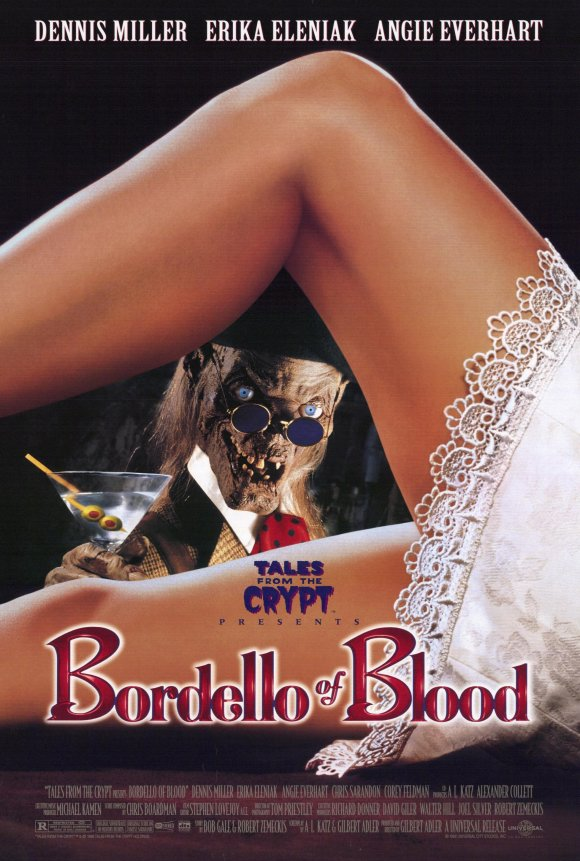 1996 bordello of blood poster1 Whatever Happened to Tales from the Crypt?