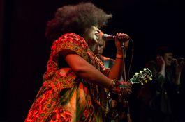 James Williamson ft. Lisa Kekaula // Photo by Philip Cosores