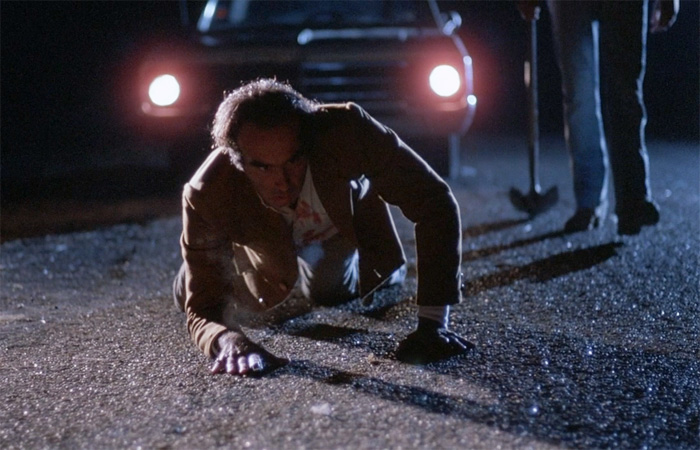 blood simple joel ethan coen brothers 1984 john getz frances mcdormand dan hedaya m emmet walsh movie film review shelf heroes DNA: The Coen Brothers Blood Simple