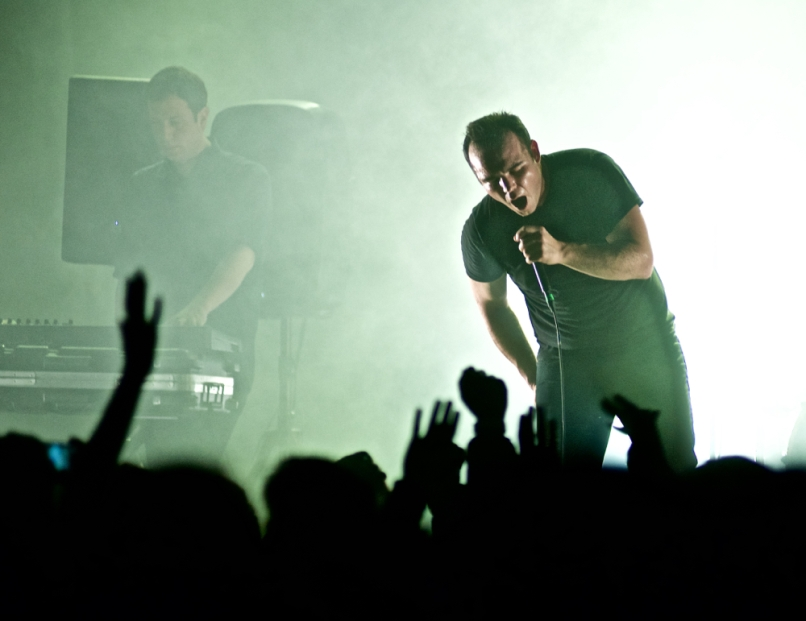 Future Islands in Concert NYC