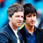 Noel Gallagher Johnny Marr