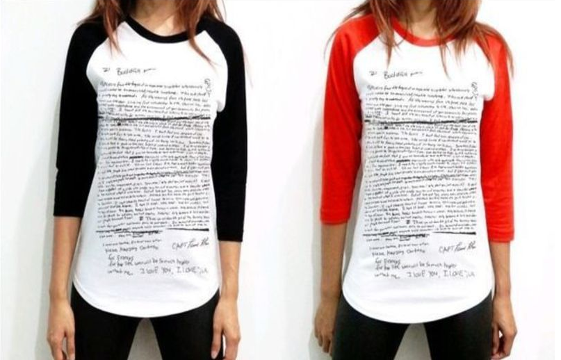 25bac79c Two douchebags are selling t-shirts featuring Kurt Cobain's suicide ...