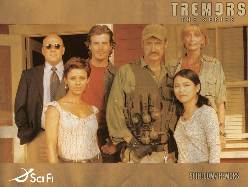 tremors the series Tremors Burrowed into Our TVs and Never Really Left