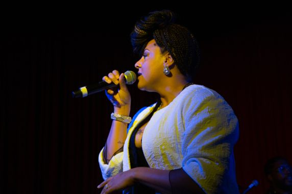 Marsha Ambrosius // Photo by Philip Cosores