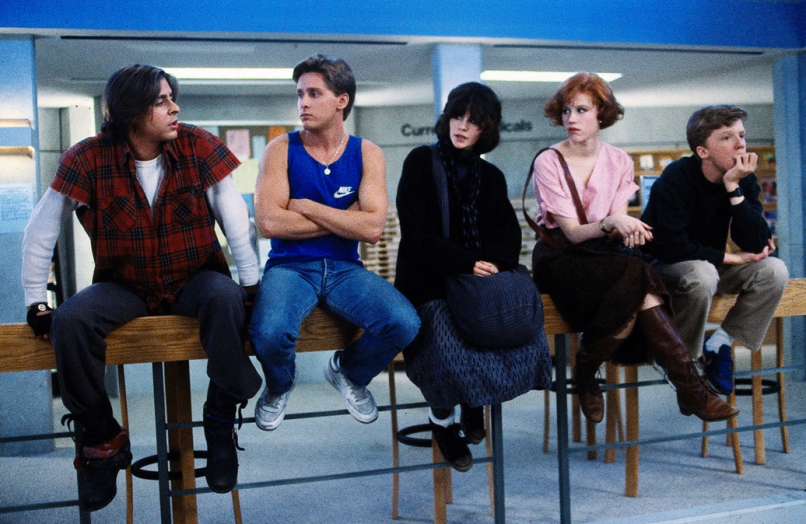 breakfast club The 80 Greatest Movies of the 80s