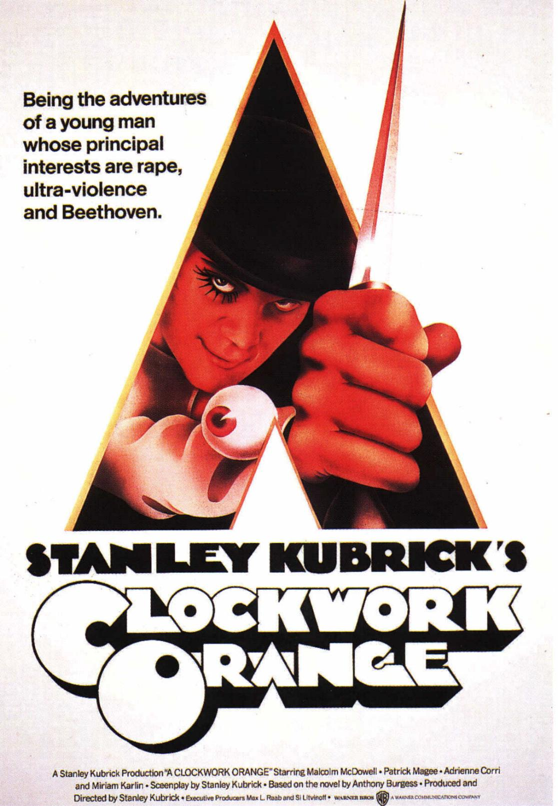 clockwork poster The Real Cure: A Clockwork Oranges Missing Ending