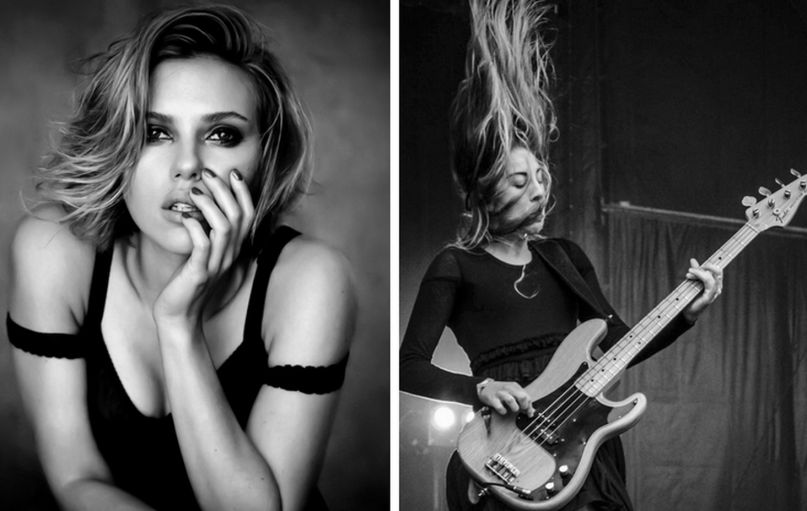 Scarlett Johansson forms pop supergroup with HAIM
