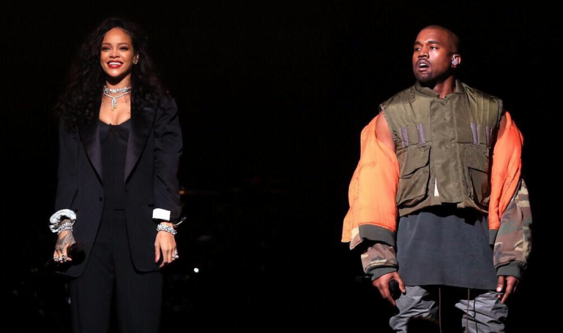 Kanye Rihanna