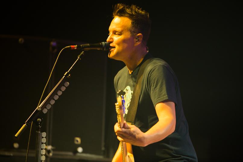Blink-182 w/ Matt Skiba // Photo by Philip Cosores
