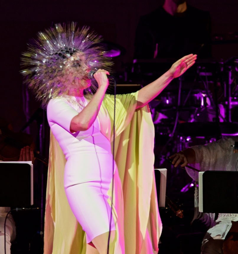 Bjork at Carnegie Hall