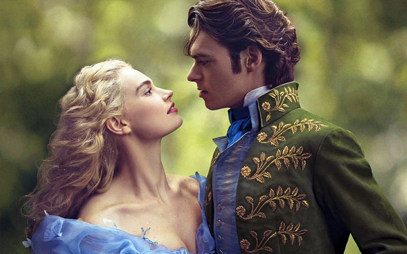 Ella And The Prince In Cinderella Wide 2015 Wallpaper-800x500