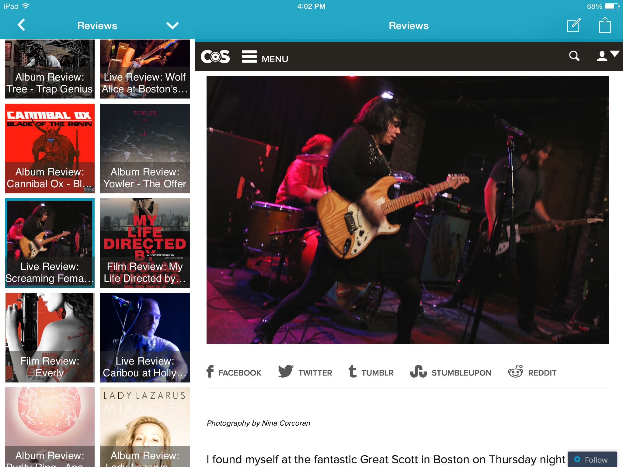 image1 Consequence of Sounds new mobile app is now available on iPhone, iPad, and Android