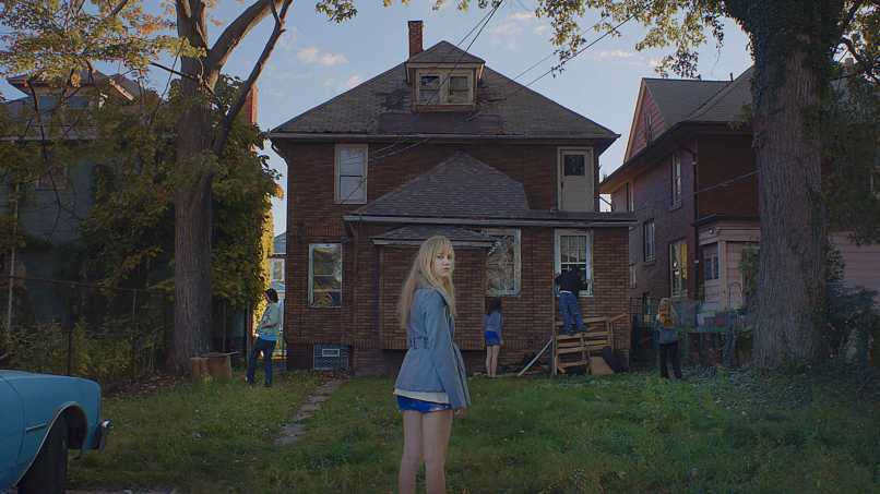 it follows scene Director David Robert Mitchell on It Follows: The Scariest Film of This Generation