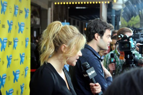 Amy Schumer and Bill Hader // Photo by Heather Kaplan