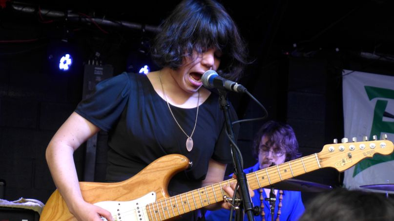 Screaming Females, photo by Sasha Geffen