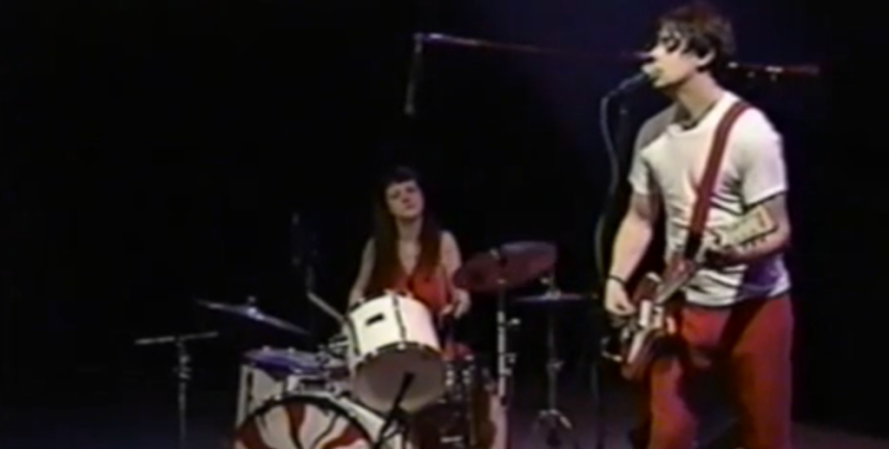 White Stripes first TV appearance