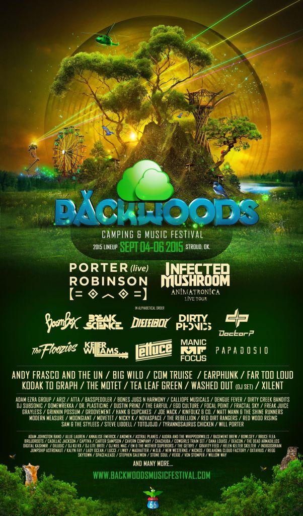 backwood lineup