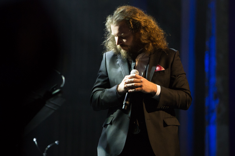 Jim James // Photo by Philip Cosores