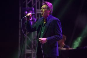 Bryan Ferry with Todd Terje and the Olsens // Photo by Philip Cosores