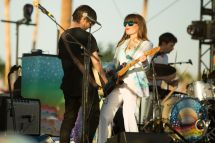 Jenny Lewis and Blake Sennett // Photo by Philip Cosores