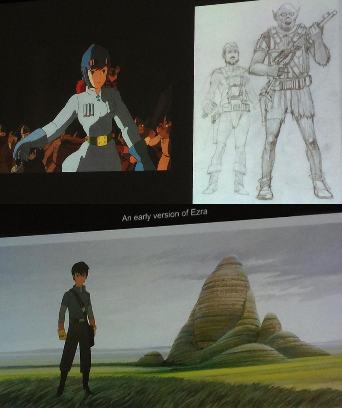 mcquarrie miyazaki Star Wars Celebration 2015: A Report