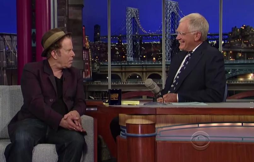 Tom Waits Letterman