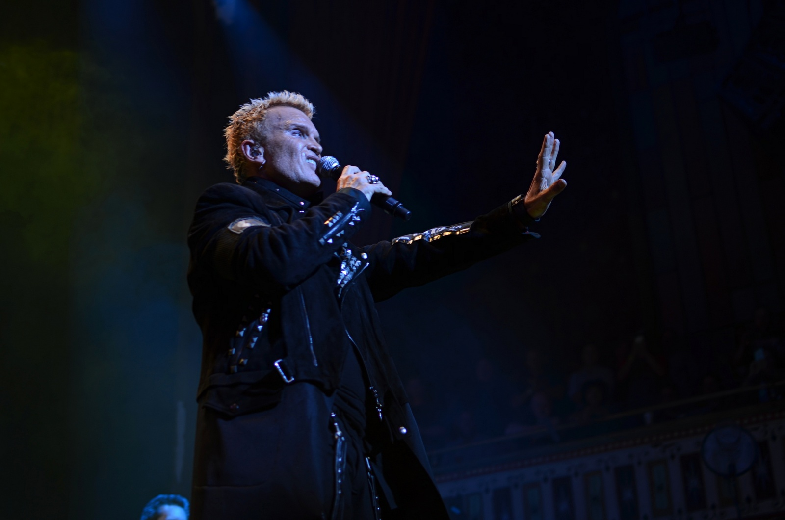 Billy Idol // Photo by Wesley Hodges
