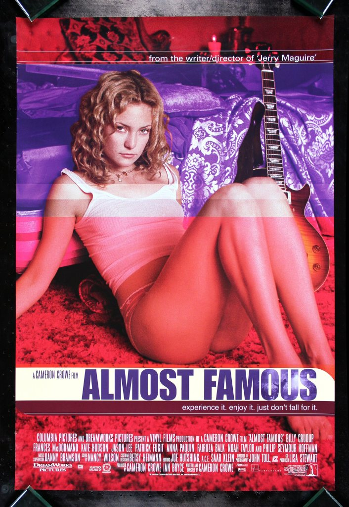 almost famous Ranking: Every Cameron Crowe Film from Worst to Best