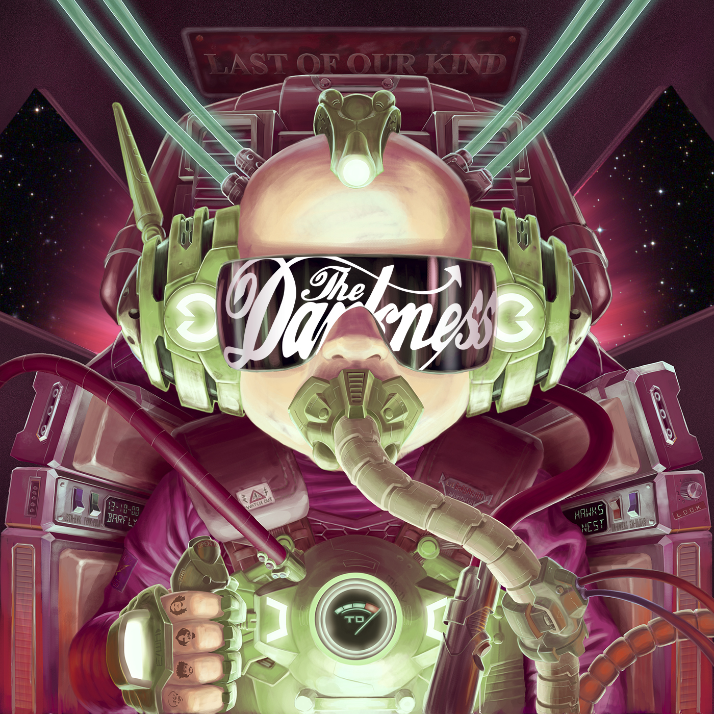 darkness last The Darkness Justin Hawkins: Everything Must Be Special