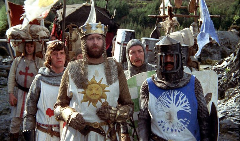 Image result for images from Monty python's holy grail