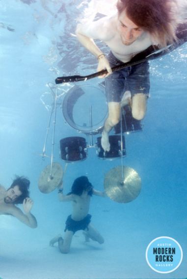 Nirvana Nevermind Promo Shoot by Kirk Weddle