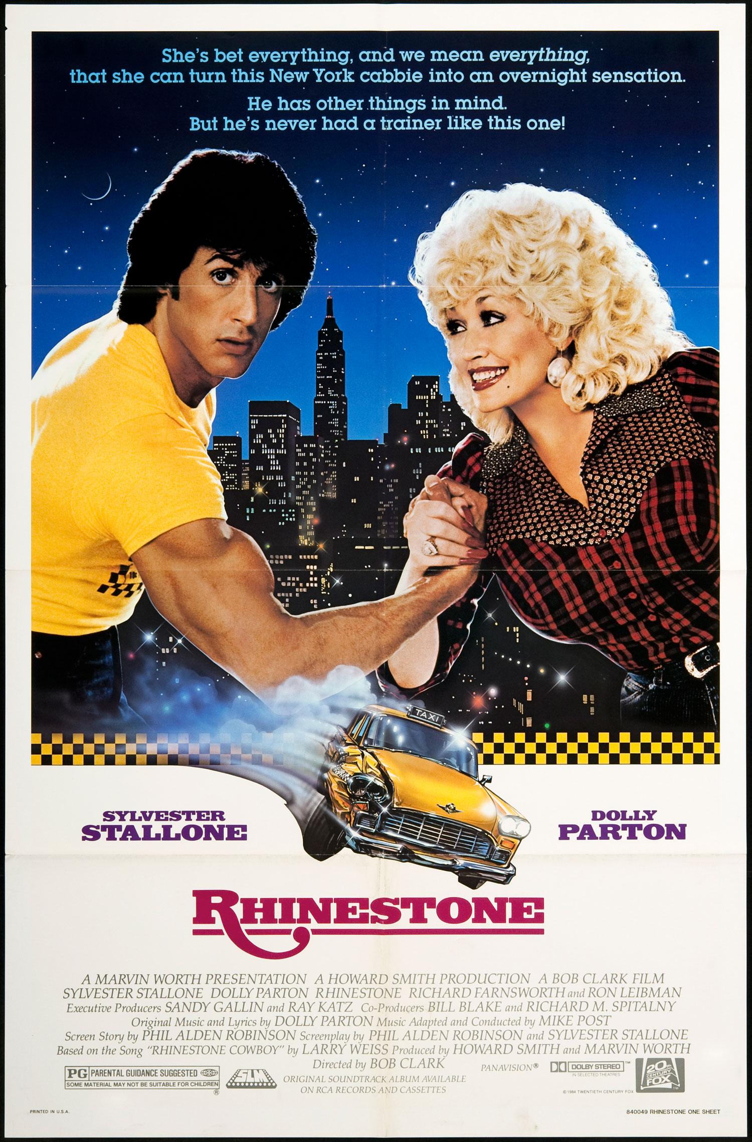 rhinestone Strange Arcs: Sylvester Stallone