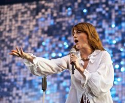 Florence and the Machine // Photo by NYPics