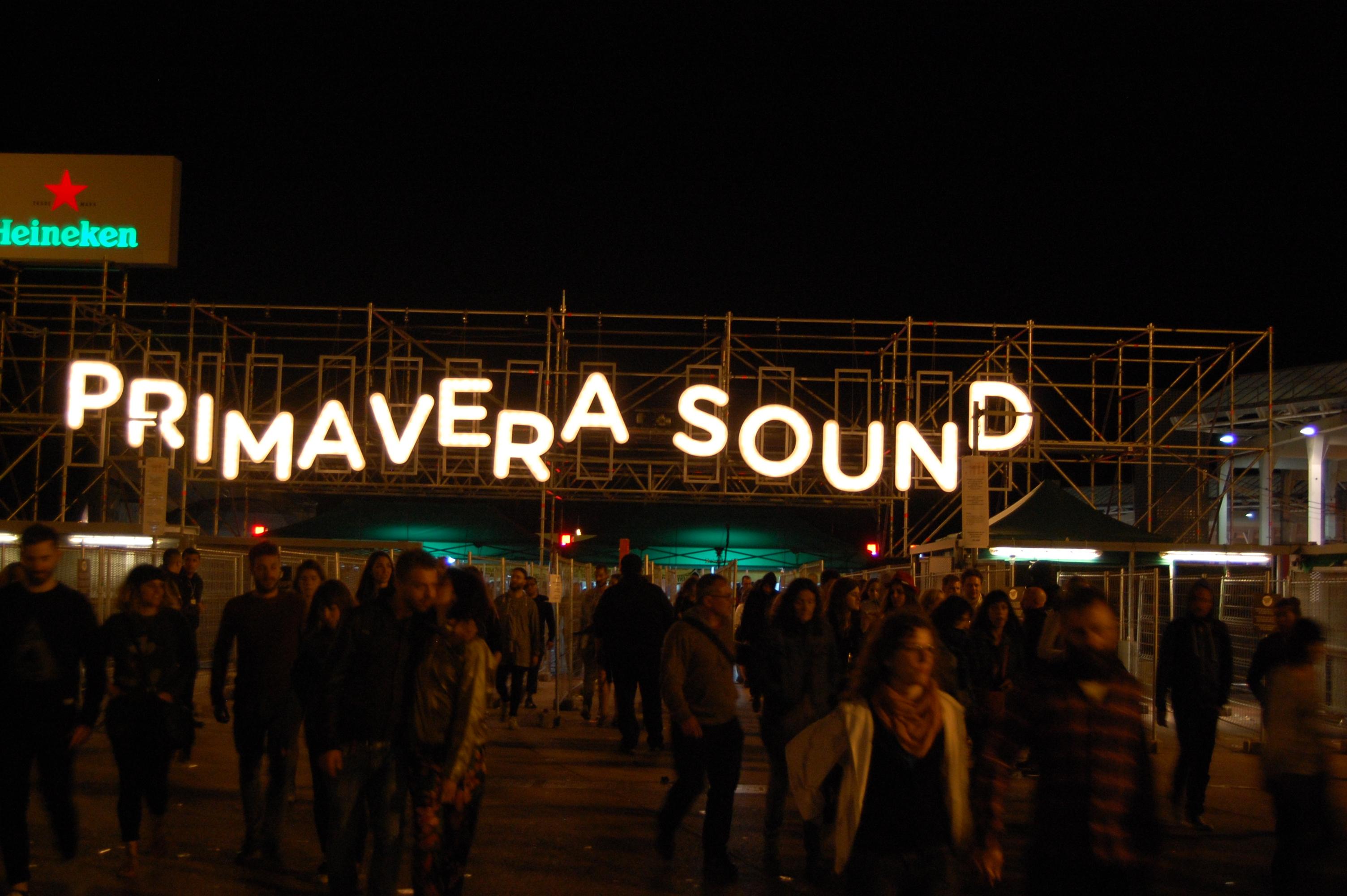Primavera Festival Grounds // Photo by Adam Kivel